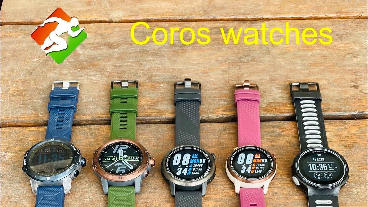 הכירו את הפרטים על שעוני Coros